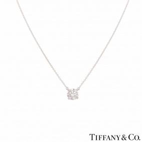 Tiffany & Co. Platinum Diamond Pendant 1.45ct F/VVS2 XXX